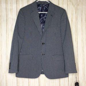 NAUTICA Blue Stripe Blazer